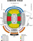 Green Bay Packers Vs Kansas City Chiefs 2 LL Tickets Section 135, Row 12! 8/29 For Sale