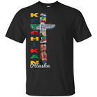 Ketchikan Alaska Totem Pole Souvenir T-Shirt Native Art