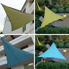 Triangle Sun Shade Sail Outdoor Garden Patio Canopy UV Block Top Shelter Outdoor