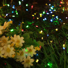 Rechargeable 50/100/200 LED Solar Powered String Garden Fairy Lights Party Xmas