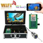 "10.1"" LCD 1000TVL Wireless WiFi Underwater Video Camera Recoder 15/20/30/50m"