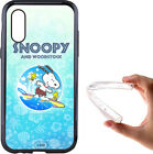 Cover Snoopy per iPhone 5 6 7 8 S X XR XS Max in silicone ultra flessibile