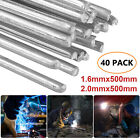 Solution Welding Flux-Cored Rods- 20/40pcs Free shipping 1.6*500mm Wire Brazing