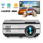 WiFi Projector Home Theater Airplay Miracast Video VGA & 84'' Projection Screen