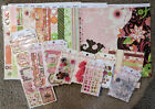 Bo Bunny 12x12 Scrapbook Paper Stickers Chipboard Brads Jewels Stamps Vicki B