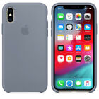 For Apple iPhone XS Max XR X 8 7 6plus Genuine Soft Silicone Case Cover