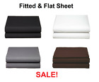 Premium™ Collection Single Fitted and Flat Sheet 1500 Count Series 4 Colors! image