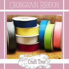 Crosgrain ( Crossgrain )  Ribbon in various widths & colours cut to length