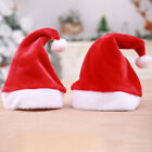 Christmas Winter Plush Xmas Santa Hats Cap for Christmas Festival Party Supplies