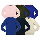 Tommy Hilfiger Womens Sweater Long Sleeve Cable Knit Crew Neck Pullover New Nwt