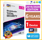 BITDEFENDER TOTAL SECURITY 2019 / 2020 | 6 YEARS | DOWNLOAD - INSTANT DELIVERY🌟