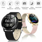 Women Fashion Bluetooth Smart Watch Waterproof Heart Rate for iOS Android CF-18