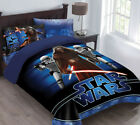 Star Wars The Force Awakens Comforter Set with Fitted Sheet $39.99 USD on eBay