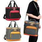 Portable Insulated Cooler Lunch Box Tote Adult Picnic Food Bag Large Capacity