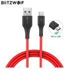 BlitzWolf Micro USB Cable 2A Charging USB Data Cable Fast Charge