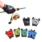 1 Pair Waterproof 3 Cut Fingers Gloves Anti-slip Outdoor Fishing Sports Mittens3