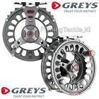 Greys GTS800 Fly Fishing Reel Trout & Salmon Freshwater Fly Reel - All Sizes