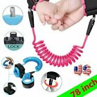 Anti-Lost Kid Baby Leash Harnesses Walking Toddler Safety Strap Wrist Band Child
