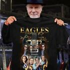 Eagles Band signature Classic Rock music gift fan t-shirt S-5XL image