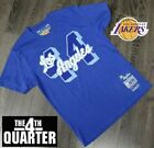 Los Angeles Lakers Mens T-Shirt Mitchell & Ness Jerry West Royal Blue on eBay