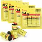 INSECT BUG FLY GLUE PAPER CATCHER TRAP RIBBON TAPE STRIP STICKY FLIES ROLLS