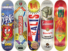 DGK Dirty Ghetto Kids Ghetto Goods Series Full Set Lot 5 Skateboard Decks image