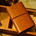 Kyпить Vintage Faux Leather Leaf String Bound Blank Paper Diary Journal Notebook Witty на еВаy.соm