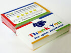 eBay Thank You For Your Order Cards - Sets of 10, 50, 100, 200, 250, 500, 1000