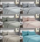 Cozy-Home™ Ultra Soft Queen Size Luxurious 4 Piece Bed Sheet Set Deep Pocket image