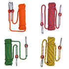 20m 10mm Climbing Rope Rappelling Rope Auxiliary Rope Static Rope Camp Tent Rope