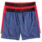 Jockey 2-Pack Men's Knit No Bunch Boxer Briefs Blue/Red