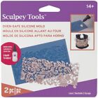 Liquid Sculpey Silicone Bakeable Mold W/Squeegee-Lace image