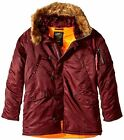 Alpha Industries Slim Fit N-3B Parka Made With 100 - Choose SZ/color