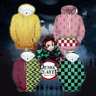 Demon Slayer: Kimetsu no Yaiba Cosplay Hoodie Causal Sweater Pullover Sweatshirt