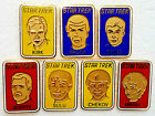 Vintage Star Trek Character Portrait Pin Collection- Your Choice of 7 or Set on eBay