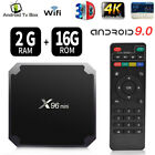 x96 mini 4k smart android 7.1 tv box s905w quad core h.265 2gb/16gb wifi media