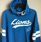 New Detroit Lions TEENS Light Hoodie Size XL (15/17) Light Blu Hooded Sweatshirt $11.69 USD on eBay