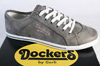 Dockers Lace up Sneakers Low Shoes Gray New