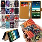 For ZTE Blade Smartphones Flip Leather Card Wallet Stand Cover Phone Case