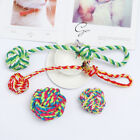 Training Play Bite Node Puppy Chew  Braided Cotton Pet Teeth Ball Dog Rope Toy