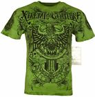Xtreme Couture by Affliction Short Sleeve T-Shirt Mens PATRON Green Black image