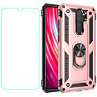 For Xiaomi Mi 9 Note 10 Redmi 9 Note 9 S 8 7 Pro Magnetic Ring Holder Armor Case