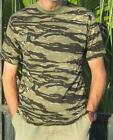 CAMOUFLAGE MILITARY CAMO SHORT SLEEVE T SHIRT /  ARMY COMBAT