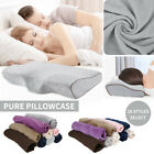 Pure Pillow Case For Contour Memory Foam Neck Back Support Orthopaedic Pillow image