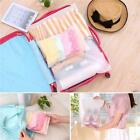 Travel Storage Waterproof  Bag Organizer Pouch Plastic Packing Bag Sl