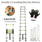 2m/3.2m/5m Aluminum Alloy Ladder Multi-Purpose Climb Telescopic Extendable Step