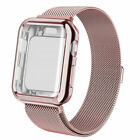 Fr A pple Watch Series 5 4 3 2 1 Milanese iWatch Band Strap+Full Body Case Cover