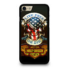 HARLEY DAVIDSON LIVE FREE OR DIE iPhone 5/5S 6/6S 7 8 Plus X/XS Max XR Case $21.55 CAD on eBay