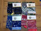 Pair of Thieves Superfit Boxer Brief Crew Sock Pack Lot of 4 each Green Blue NWT