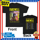 Elton John t Shirt Farewell Yellow Brick Road Concert Tour 2020 T-Shirt Size Men image